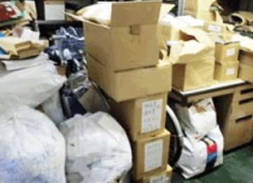 会社・オフィスのゴミ回収