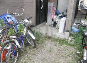 使わない自転車、キャンプ用品